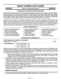 Key Account Manager Resume Templates Senior Real Estate Template Premium Download