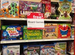 Chain Stores Target Board Game Aisle