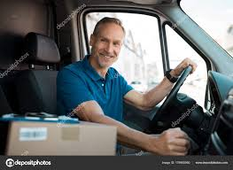 Delivery Man Driving Van — Stock Photo © Ridofranz #178955060 Truck Driver Awarded For Driving 2 Million Miles Accident Free Senior Man Driving Texting On Stock Photo Safe To Use Cartoon A Vector Illustration Of Work Drivers Rks Autolirate Dick Nolan Portrait Of Driver Holding Wheel Smile Photos Dave Dudley Youtube Clipart A Happy White Delivery With Smiling An Old Pickup Royalty Chicano By Country Roland Band Pandora