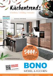 prospekte werbung bono möbel küchen und pay