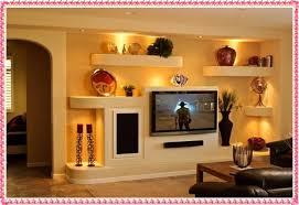 Drywall Interior Design 2016 Gypsum TV Wall Unit Trends