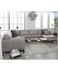 Ventroso Leather Sectional Collection Created for Macy s
