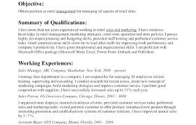 Retail Store Manager Resume Sample India Templates For Assistant Resumes Template Sales