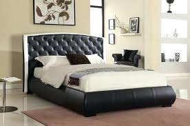 Black Leather Headboard King by Faux Leather Tufted Headboard Dorel Living Lyric Button Tufted