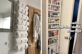 products to organize a tiny bathroom and add space