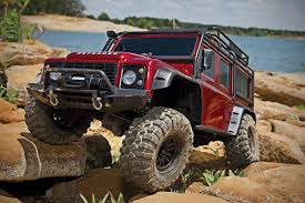 100 Remote Control Gas Trucks This RC Land Rover Defender 4x4 Is A Totally Waterproof OffRoading