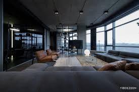 wandgestaltung mit steinwand im schlafzimmer ein apartment