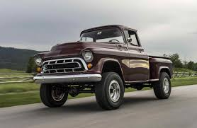 Legacy Old Chevy 4×4 Trucks For Sale Classic Returns With S Napco ...