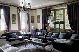 Dark Purple Living Room