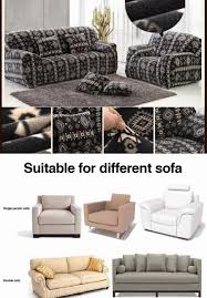 3 Seater Sofa Covers by Recliner Protector Sofa Tight Wrap All Inclusive Slip Resistant