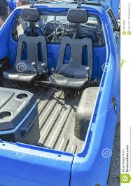 100 Truck Bed Seats Dual In The Back Of A Pickup For Offroading Stock Photo