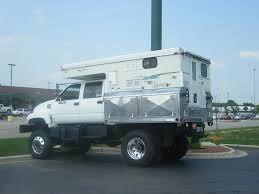 NotrhStar Camper On Flat Bed Truck | Heavy Duty Off Road Camper ...