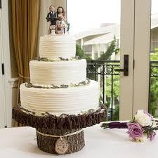 Rustic Wood Cake Stand Wedding