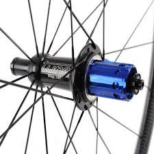 Tune Skyline Carbon Fiber Road Bike Wheelset 700c Tubular