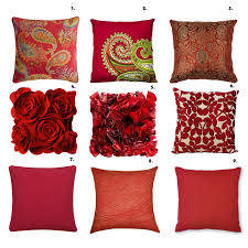 Red Decorative Lumbar Pillows by Organizing Decorative Pillows Http Highlifestyle Net Wp