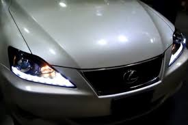 spec d皰 2lhp is25006 tm chrome projector led headlights with