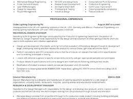 Resume Samples Mechanical Engineer For Diploma Fresher Sample Experienced
