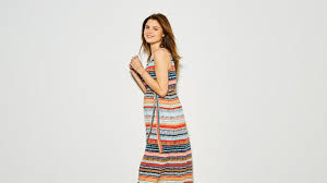 printed stripe maternity maxi dress summer 2017 mothercare