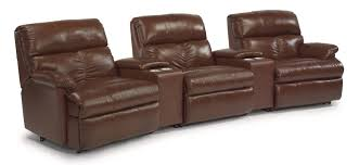 Pulaski Maguire Bar Cabinet by Collinsville 6 Piece Power Recline Theater Seating Group By