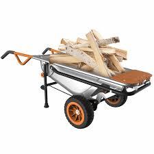 Aerocart Wheelbarrow Yard Cart & Dolly WG050