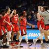 N.C.A.A. Final Four Live: Arizona Stuns UConn to Reach Final