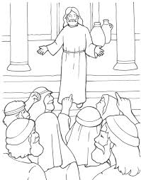 A Prophet Without Honor Coloring Page