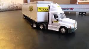 100 Tonkin Trucks JB Hunt Truck 187 Scale YouTube