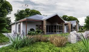100 Rural Design Homes AURORA3drurallivingdesigncustomgablebuildside