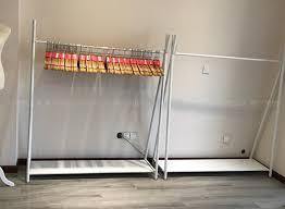 Creative Clothes Rack Display Floor Type Womens Clothing Hangers Store Shelves Hanging Shelf