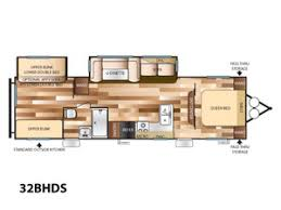 Wildwood Fifth Wheel Floor Plans Colors Wildwood Trailers For Sale Near Seattle Wa Forest River Rv