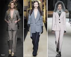 Fall Winter 2016 2017 Fashion Trends Pantsuits