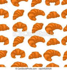 Iillustration Logo For Fresh French Croissant