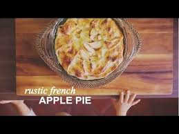 Rustic French Apple Pie