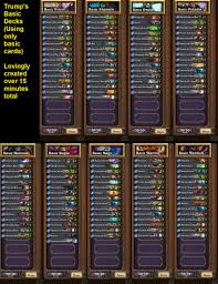 Hearthstone Deck Builder Tool by Still Don U0027t Have Enough Cards To Build A Good Deck General