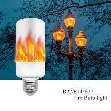 e27 e14 b22 2835smd led effect light bulbs 5w creative