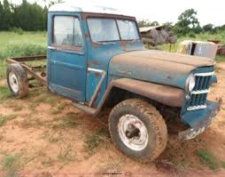 100 Willys Jeep Truck For Sale 1962 Pickup Truck Item C9734 SOLD Wednesday