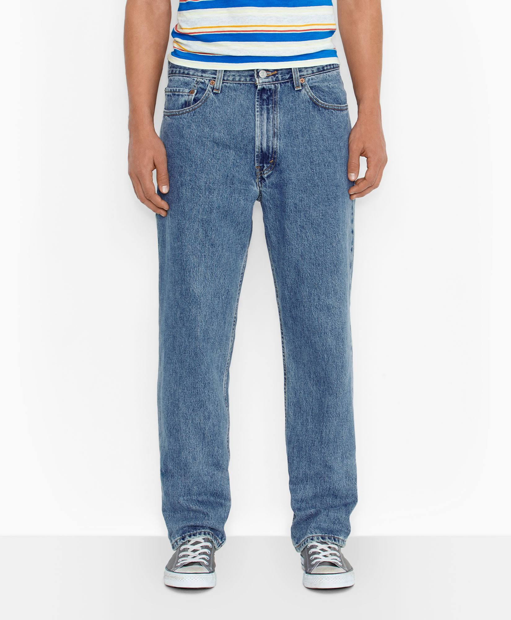 Levi's Men's 550 Relaxed Fit Jeans - Medium Stonewash