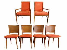 John Widdicomb J Stuart Clingman Dining Table Chairs Mid Century Img 2