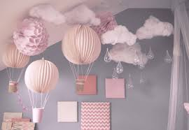 idee chambre bébé chambre enfant idee decoration avec ballons chambre bebe idée