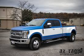 100 Wrapped Trucks Shop Truck Wrap Big Blue AZ Rag Installations Print