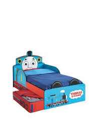 thomas friends thomas the tank engine toddler bed with storage