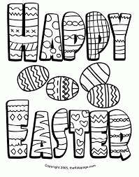 Free Download Coloring Easter Printables Pages At Printable Egg