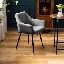 flieks esszimmerstuhl polsterstuhl wohnzimmerstuhl sessel mit rückenlehne sitzfläche aus samt kaufen otto