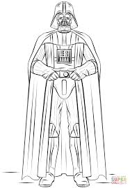 Darth Vader Coloring Page Free Printable Pages For Kids