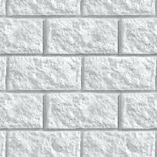 White Stone Wall Cladding Internal Walls Texture Seamless Grey Wallpaper