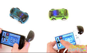 carbot remote controlled cars work off your smartphone video