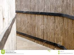 100 Bamboo Walls Wooden Bridge Fenced With Stock Image Image Of Travel
