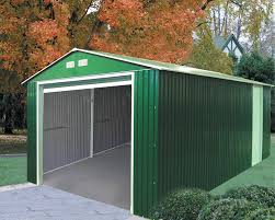 12x20 Storage Shed Material List by Amazon Com Duramax 50961 Metal Garage Shed With Side Door 12 By