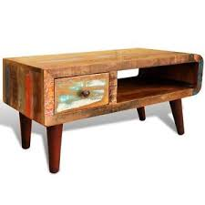 Image Is Loading Antique Coffee Table Rustic Reclaimed Wood Living Room