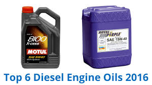 6 Best Diesel Engine Oils 2016 - YouTube